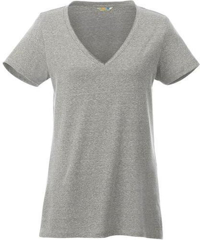 Elevate-Ladies CANYON Short Sleeve Tee-XS-Heather Grey-Thread Logic