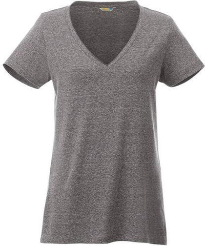 Elevate-Ladies CANYON Short Sleeve Tee-XS-Heather Dark Charcoal-Thread Logic