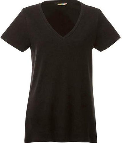 Elevate-Ladies CANYON Short Sleeve Tee-XS-Black-Thread Logic