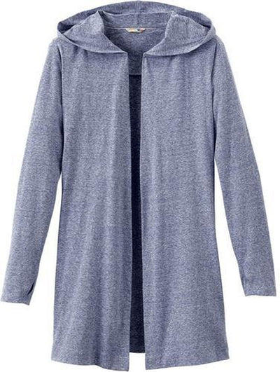 Elevate-Ladies ASHLAND Knit Hooded Cardigan-S-Invictus Heather-Thread Logic