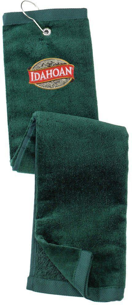 Grommeted Trifold Golf Towel