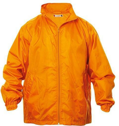 Clique Windon Windbreaker Jacket-S-Neon Orange-Thread Logic