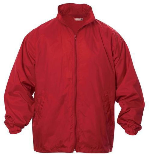 Clique Windon Windbreaker Jacket-S-Red-Thread Logic