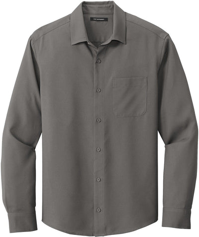 Port Authority Long Sleeve Performance Staff Shirt-Men's Dress Shirts-Thread Logic