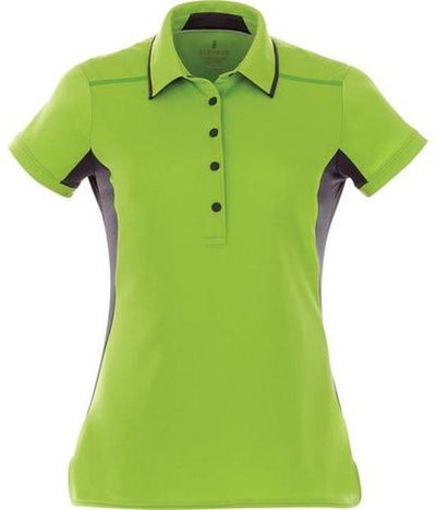 Elevate-Ladies ROYCE Short Sleeve Polo-XS-Apple Green-Thread Logic