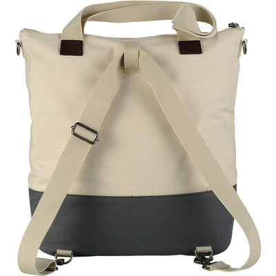 "Alternative-Alternative Victory 15"" Computer Tote-Natural/Gray-Thread Logic"