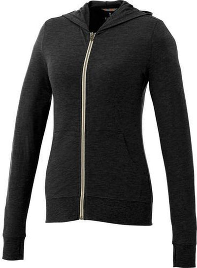 Elevate-Ladies GARNER Full Zip Hoody-XS-Black-Thread Logic