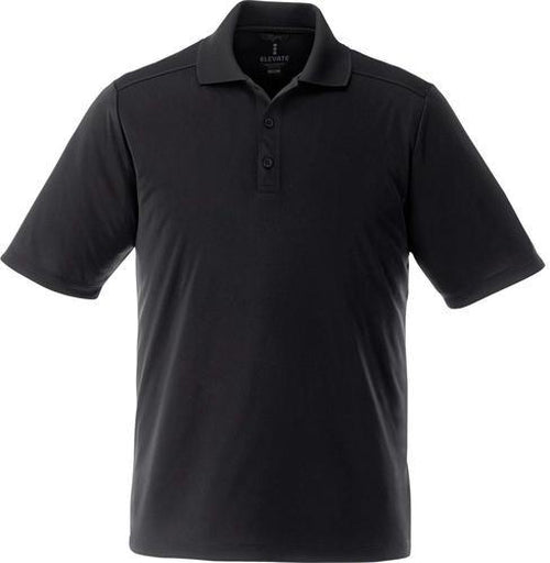 Elevate-Tall DADE Short Sleeve Polo-LT-Black-Thread Logic