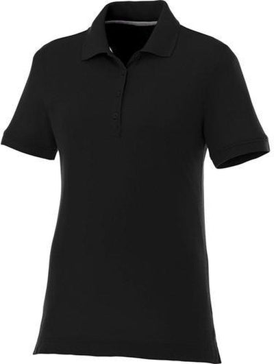Elevate-Ladies CRANDALL Short Sleeve Polo-S-Black-Thread Logic