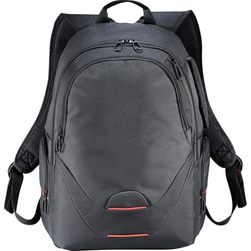 "Elleven-elleven Motion 15"" Computer Backpack-Black-Thread Logic"