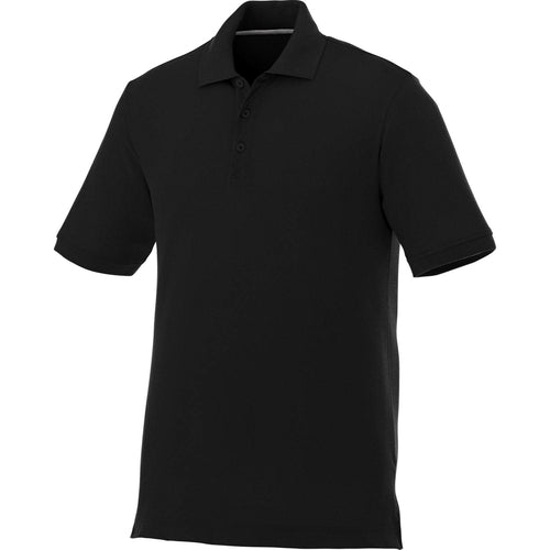Elevate-CRANDALL Short Sleeve Polo-S-Black-Thread Logic