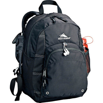 Elevate-High Sierra Impact Backpack-Black-Thread Logic