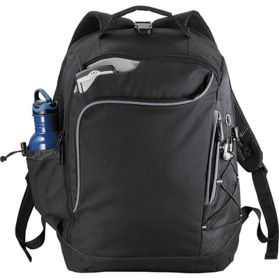 "Elevate-Summit TSA 15"" Computer Backpack-Black-Thread Logic"