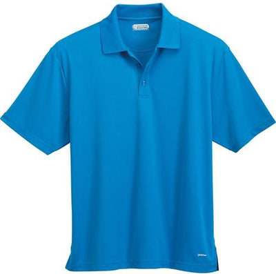Elevate-MORENO Short Sleeve Polo-S-Olympic Blue-Thread Logic