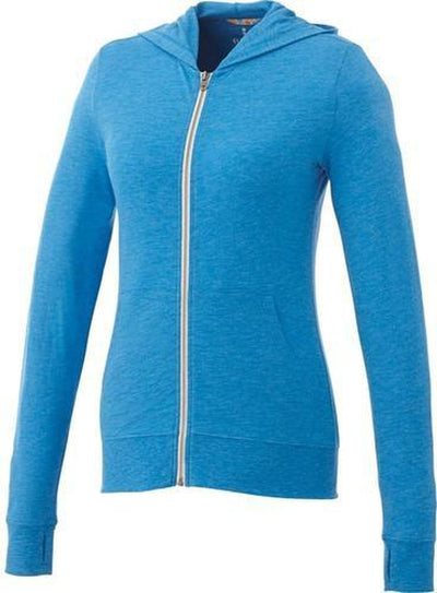 Elevate-Ladies GARNER Full Zip Hoody-XS-Olympic Blue Heather-Thread Logic