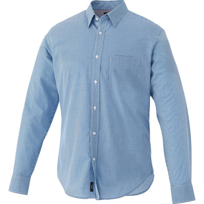 Elevate-QUINLAN Long Sleeve Dress Shirt-S-New Royal-Thread Logic