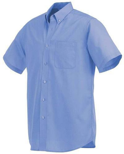 Elevate-COLTER Oxford Short Sleeve Dress Shirt-S-Blue-Thread Logic