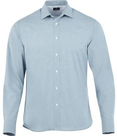 Elevate-THRUSTON Long Sleeve Dress Shirt-S-Denim-Thread Logic