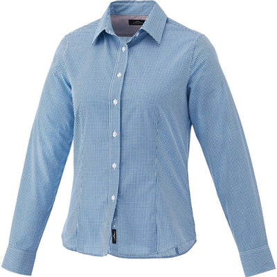 Elevate-Ladies QUINLAN Long Sleeve Dress Shirt-S-New Royal-Thread Logic