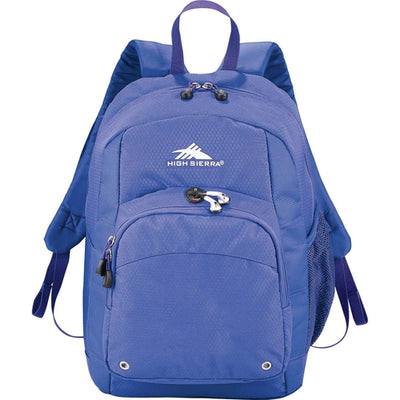 Elevate-High Sierra Impact Backpack-Royal-Thread Logic
