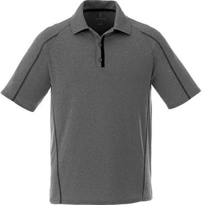 Elevate-MACTA Short Sleeve Polo-S-Heather Dark Charcoal-Thread Logic