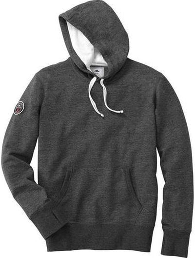 Roots73 Williamslake Hoody-S-Black Smoke Heather-Thread Logic