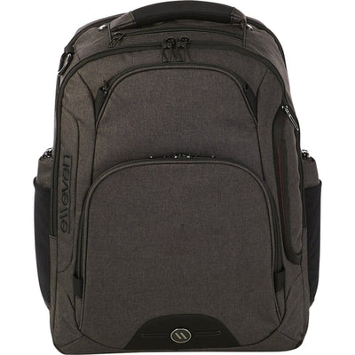 "Elleven-elleven Rutter TSA 17"" Computer Backpack-Charcoal-Thread Logic"
