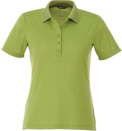 Elevate-Ladies DADE Short Sleeve Polo-S-Citron Green-Thread Logic