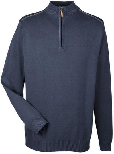 Manchester Fully-Fashioned Half-Zip Sweater
