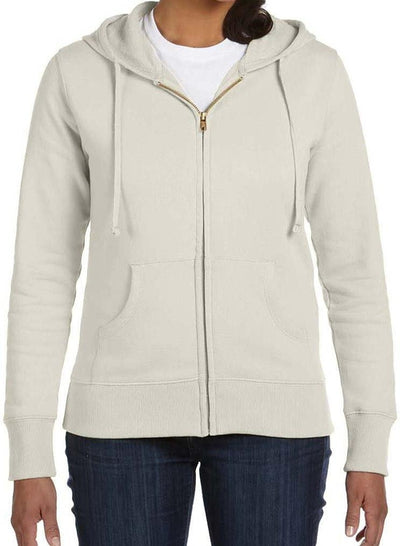econscious Ladies 9 oz. Organic/Recycled Full-Zip Hood-Ladies Layering-Thread Logic