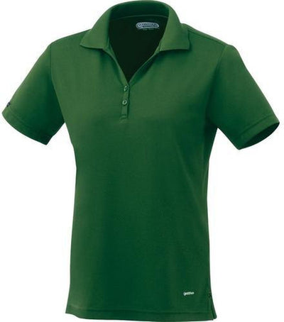 Elevate-Ladies MORENO Short Sleeve Polo-XS-Forest Green-Thread Logic