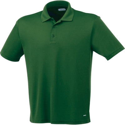 Elevate-MORENO Short Sleeve Polo-S-Forest Green-Thread Logic