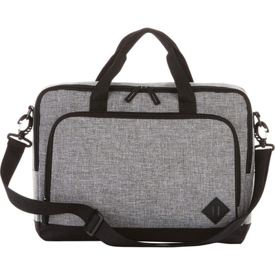 "Elevate-Graphite 15"" Computer Briefcase-Graphite-Thread Logic"