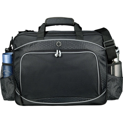 "Hive-Hive TSA 15"" Computer Briefcase-Black-Thread Logic"