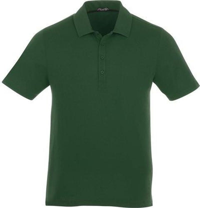 Elevate-ACADIA Short Sleeve Polo-S-Forest Green-Thread Logic