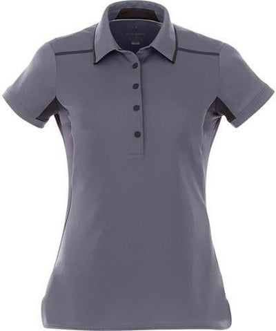 Elevate-Ladies ROYCE Short Sleeve Polo-XS-Light Grey-Thread Logic