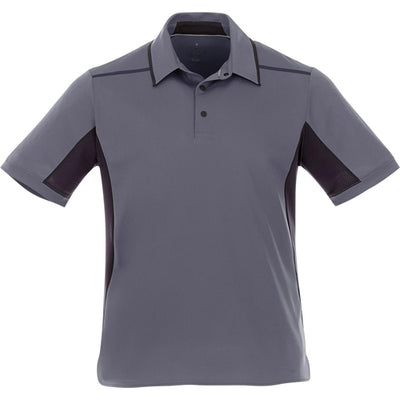 Elevate-ROYCE Short Sleeve Polo-S-Light Grey-Thread Logic