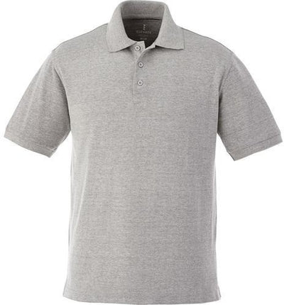 Elevate-BELMONT Short Sleeve Polo-S-Heather Grey-Thread Logic