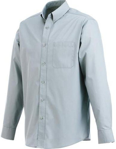 Elevate-PRESTON Long Sleeve Dress Shirt-S-Grey-Thread Logic