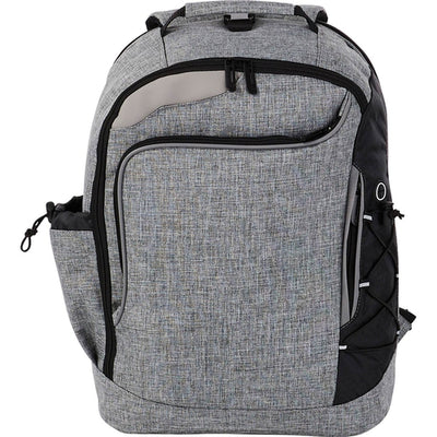 "Elevate-Summit TSA 15"" Computer Backpack-Graphite-Thread Logic"