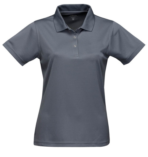 Tri Mountain-Ladies Vital Snap Closure Polo Shirt-XS-Grey-Thread Logic