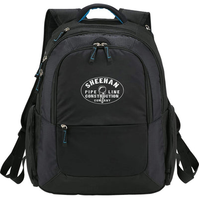 "Elevate-DayTripper 15"" Computer Backpack-Black-Thread Logic"