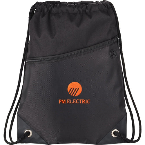 Elevate-Deluxe Sport Drawstring Sportspack w/ Earbud Port-Thread Logic