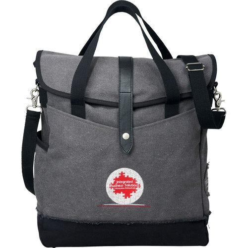 "Field&Co-Field & Co. Hudson 14"" Computer Tote-Grey-Thread Logic"