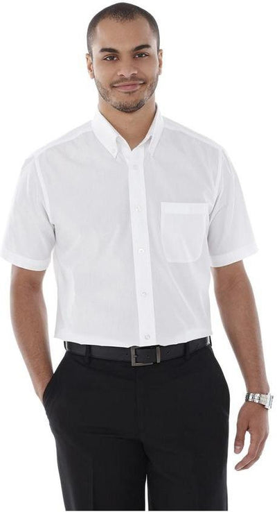 Elevate-COLTER Oxford Short Sleeve Dress Shirt-Thread Logic no-logo