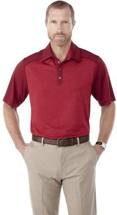 Elevate-SAGANO Short Sleeve Polo-Thread Logic