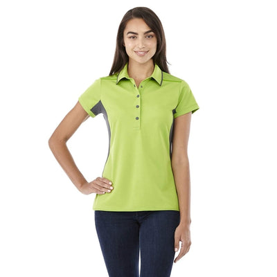 Elevate-Ladies ROYCE Short Sleeve Polo-Thread Logic no-logo