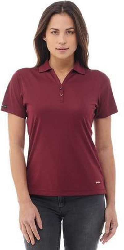Elevate-Ladies MORENO Short Sleeve Polo-Thread Logic