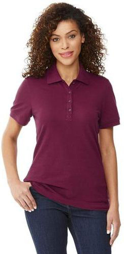 Elevate-Ladies CRANDALL Short Sleeve Polo-Thread Logic no-logo