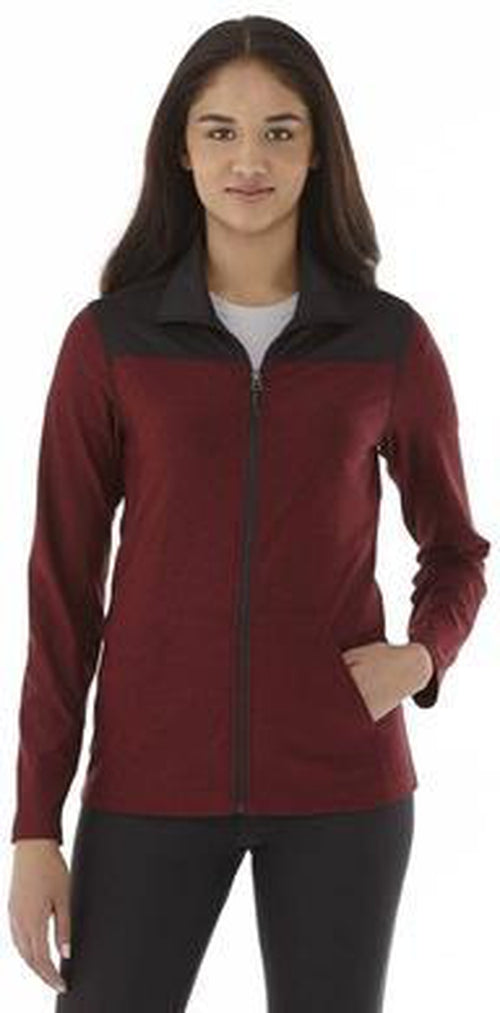 Elevate-Ladies PERREN Jacket-XS-Olympic Blue Heather-Thread Logic